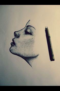 Micron pens art