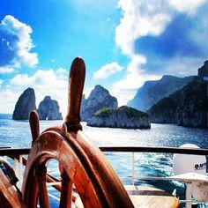 The #Windsurf departing #Capri | Windstar Cruises http://windstarcruises.com/