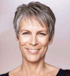 Deze 12 inspiratie korte kapsels voor alle oudere dames met grijze haarkleur! frisse en trendy look! - Part 2