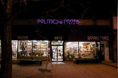 Politics & Prose Bookstore, Washington DC
