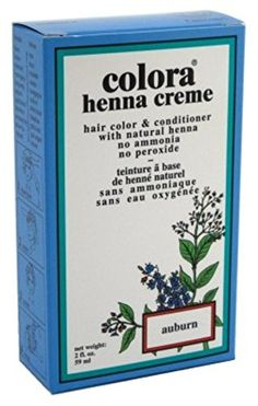 Colora Henna Creme Hair Color Auburn 2oz (2 Pack) ** You can find out more details at the link of the image.