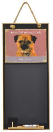 Border Terrier Chalkboard