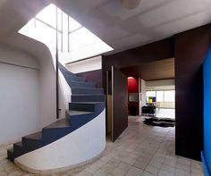 Le Corbusier - Atelier - Immeuble Molitor, 24 rue Nungesser et Coli , Paris, 1931- 34