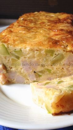 Quiches, Cooking Time, Cooking Recipes, Tasty, Yummy Food, Canapes, Empanadas, Sin Gluten, Vegetable Recipes