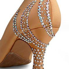 BeSparkle Crystallized Design SH551   Dance Shoes