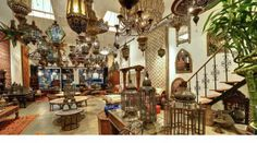Moroccan lighting fixtures, chandeliers, lamps and lanterns ...
