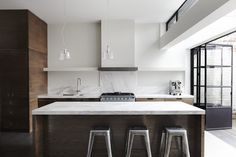 Fitzroy residence - Trying to find one thing I don't like about this kitchen #interiorinspiration