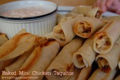 Baked Chicken Taquitos (2)