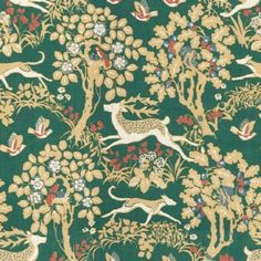 Lee Jofa MILLE FLEUR FOREST Fabric