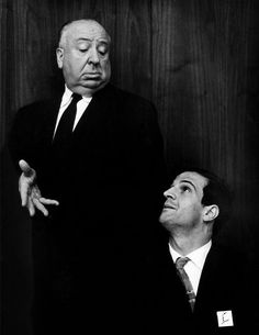 Alfred Hitchcock and Fraçois Truffaut