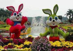 Escultura floral
