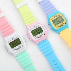 timex watch pastel