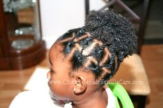Pretty style for little girls Childrens Hairstyles, Lil Girl Hairstyles, Natural Hairstyles For Kids, Princess Hairstyles, My Hairstyle, Afro Hairstyles, African Kids Hairstyles, Toddler Hairstyles, Hairstyles Pictures