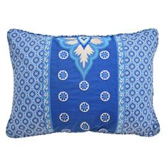 Waverly Moonlit Shadows Embroidered and Pieced Decorative Accessory Pillow - 15668014X020LAP