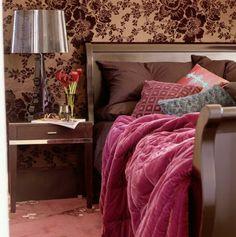 30 Interessante Vorschläge Für Tapeten Im Schlafzimmer