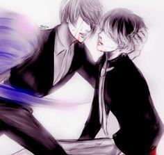 Tsukiyama and Sasaki ||| Tokyo Ghoul: Re Fan Art by mochibom on Tumblr