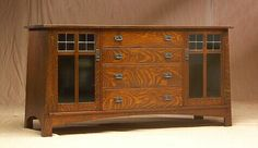 Arts And Crafts Beads Craftsman Style Furniture, Mission Style Furniture, Craftsman Interior, Arts And Crafts Furniture, Home Decor Furniture, Furniture Decor, Furniture Design, Mission Style Kitchens, Shaker Furniture