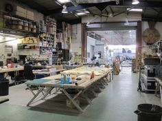 Tim Mapatons studio. Wow looks just like my old warehouse.