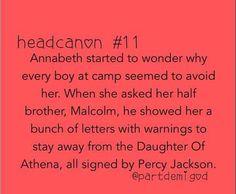 Percyjackson head canon otp percabeth Percy annabeth