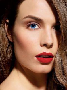 Perfect and I love matte lipstick...