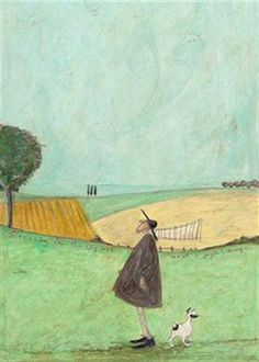 Searching For The Skylark:: by Sam Toft