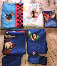 Nintendo Mario Kart Twin Sheet Set With Matching Curtains Collectible Gift  #Nintendo
