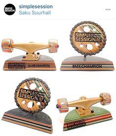 Simple session trophy skateboarding bmx