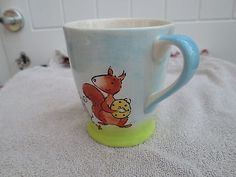 Mug Whittard of Chelsea Rabbit Mouse & squirrel  3 1/2 ins in height