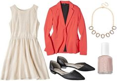 Ideas for how to wear a lace dress are featured, with stylish outfits for class, the weekend, and an internship.