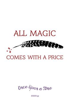 All magic comes with a price, Dearie