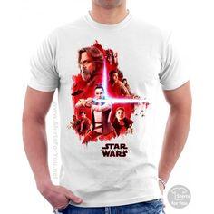 The Last Jedi T-Shirt Star Wars Prints, T Shirts Uk, Star Wars Poster, Star Wars Tshirt, Last Jedi, Mens Tops, Fashion, Moda, Fashion Styles