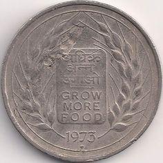 Motivseite: Münze-Asien-Indien-Rupee-0.50-1973