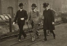 King George V visited South Yorkshire and stayed at Wentworth Woodhouse in 1912. by Illustrated News, bromide print, July 1912  #RePin by AT Social Media Marketing - Pinterest Marketing Specialists ATSocialMedia.co.uk
