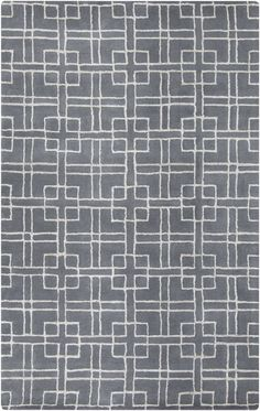 Surya MNR1013 Manor Gray Rectangle Area Rug