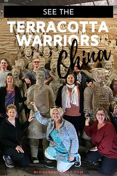 The Terracotta Warriors in Xi'an China were on my Bucket List and I've now seen them twice!  Here's what you need to know to plan your trip to these incredible life size sculptures made over 2000 years ago and only discovered in the 1970s.   #Chinatravel #TerracottaWarriors #Xian