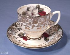 china tea cups | english bone china tea cup and saucer sold very pretty tea cup and ...