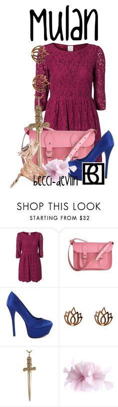 """#6 Mulan"" by lovelylittledisney ❤ liked on Polyvore featuring Vero Moda, The Cambridge Satchel Company, Melissa Odabash, Jennifer Fisher and AS29"