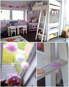 Der #Kinderzimmertraum meiner #Tochter ist ein wahres #Mädchenzimmer. Monochrome Kinderzimmer sind gerade voll im Trend? Bei uns nicht, hier bleibt es bunt und fröhlich aber es ändert sich immer mal wieder was.