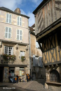 Clamecy et sa vieille ville, une ambiance bucolique !