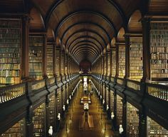 Trinity Library | Dublin, Ireland {This is like Heaven!}