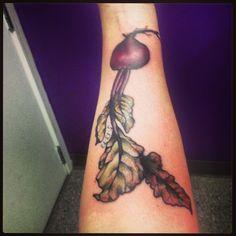 Beet tattoo