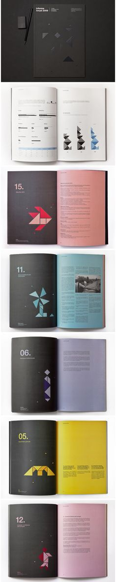 Information design tangrams Informe Anual Censors Editorial Design Layouts, Graphic Design Layouts, Graphic Design Inspiration, Layout Design, Design Ideas, Typography Layout, Graphic Design Typography, Lettering, Design Brochure