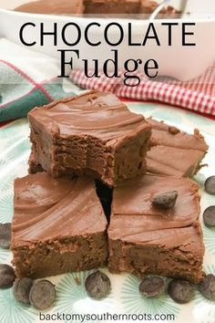 This is a recipe for an easy and old fashioned chocolate fudge. Fudge makes a great gift for teachers, parties, Christmas, or any holiday. The recipe is made with marshmallow cream and plenty of chocolate chips for a delicious dessert. #fudge #chocolate #dessert #marshmallowcream #recipes #oldfashioned #vanilla #desserts #Christmas #holiday Fudge With Marshmallow Cream, Milk Cookies, Brownie Cookies, Vanilla Desserts, Holiday Candy, Christmas Holiday, Christmas Recipes, Christmas Desserts, Holiday Fun