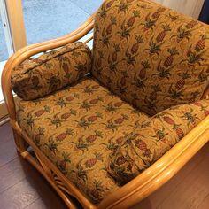 pinepple sofa パイナップル柄ソファ