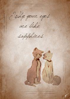 Aristocats inspired valentine.