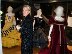 """Tra i vestiti di scena di Maria Callas per l'inagurazione della Mostra """"A Woman, a voice, a mith"""""""