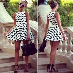 ♥ white -  black  #beautiful