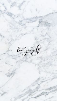 Love Yourself iPhone Wallpaper @EvaLand