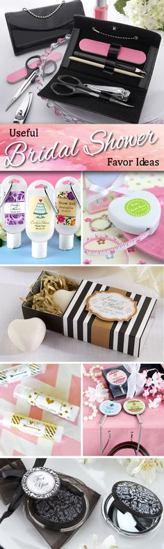 Wedding Gift Ideas Practical : Looking for practical ideas for your bridal shower favor gifts? Check ...