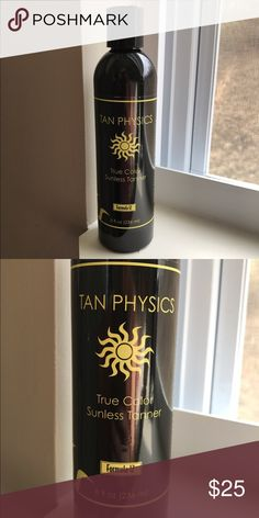 Sunless Tanner Tan Physics True Color Sunless Tanner True Physics Other